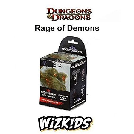 Dungeons & Dragons - D&D - Icons of the Realms: Rage of Demons Booster Pack (Dragon Demon)
