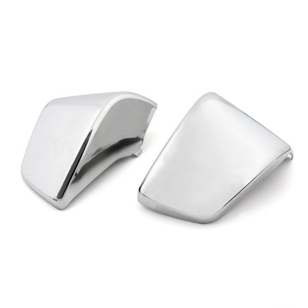 Areyourshop For Honda Shadow ACE VT400 VT750 98-03 Chrome Plastic Side Battery Covers