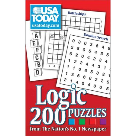 Usa Today Logic Puzzles  200 Puzzles From The Nations No  1 Newspaper