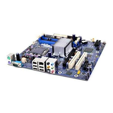IntelD945PPMSocket 775, Pentium 4, 945 Chipset motherboard, 2PCI, 1 PCI 1x, 1 PCI 16x, DDR2, Onboard AudioLAN, IDE, SATA, Micro ATX Form Factor