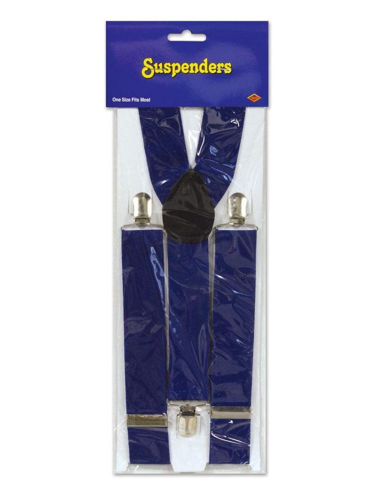 (Pack of 12) Blue Suspenders