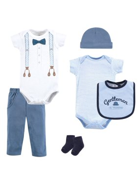 Baby Shower Layette Gift Set, 6pc (Baby Boy)