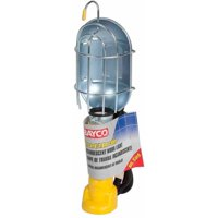 Bayco FL-407PDQ Professional Series Metal Shield Incandescent Utility Light with 16 Gauge Cord and Tool Tap