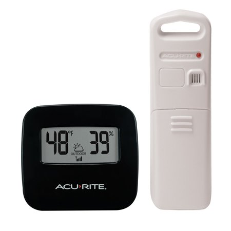 Wireless Thermometer with Outdoor Temperature and Humidity (Wireless Remote Temperature Sensor)