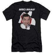 Mr Bean Here's Beanie Mens Slim Fit Shirt