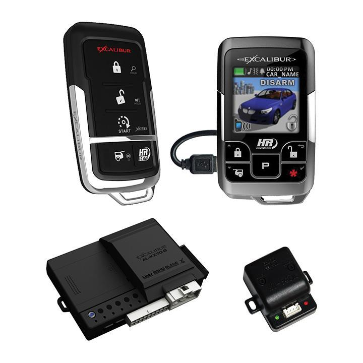 Excalibur 1 Mile Color 2 Way Security & Remote Start Alarm Combo - image 1 of 1
