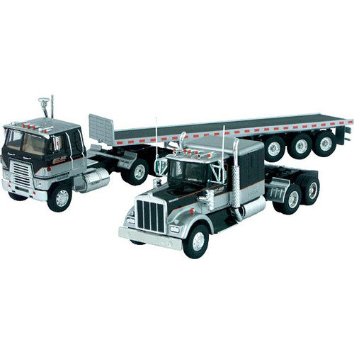 Scalextric Corgi International Transtar COE, Kenworth W925 Truck and Lowboy Trailer