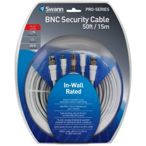 50FT/15M IN-WALL RATED BNC CABLE