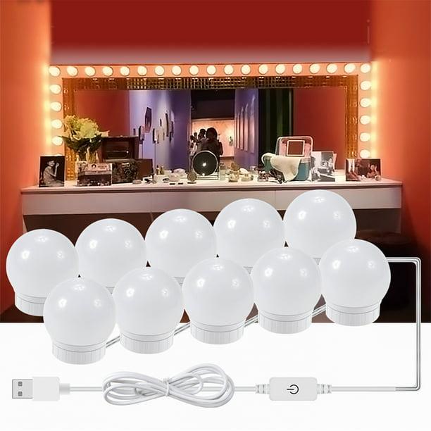 Kohree 10 14 Bulb Vanity Lights For, Plug In Bathroom Light