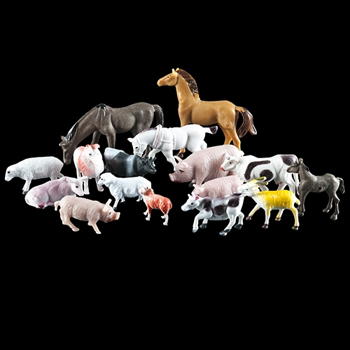 Farm Animal Assortment 15 piece set by