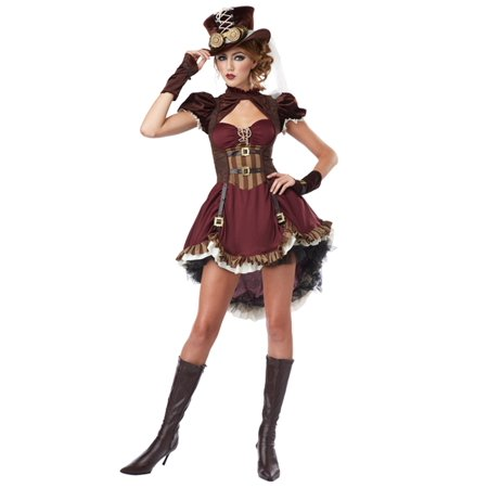 Plus Size Steampunk Lady Costume - Teen Steampunk Costume