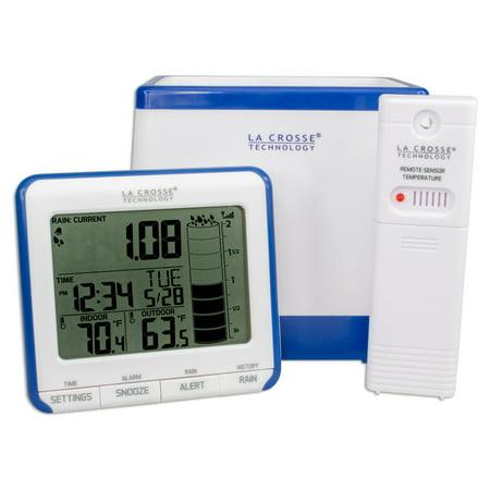 - La Crosse Technology 724-1710 Digital Rain Gauge with Outdoor Temperature Sensor
