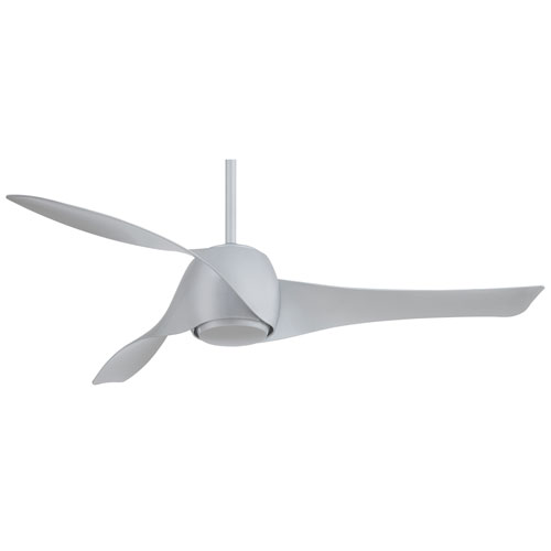 Artemis Silver 58-Inch LED Ceiling Fan by