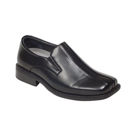 Deer Stags Boys' Wings Comfort Slip-On Dress Shoes