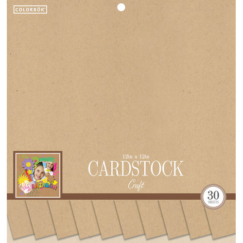 Colorbok 12in Smooth Cardstock Craft