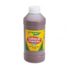 Crayola Artista II Tempera Paint, 16 Oz. Bottle, Brown; no. BIN311507 - image 1 de 2