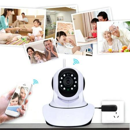 1280*720 HD Wireless WiFi IP Camera TF Card Record Surveillance Camera