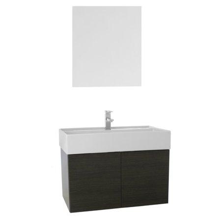 Iotti by Nameeks Smile 31 in. Single Bathroom Vanity Set with Deeper Sink