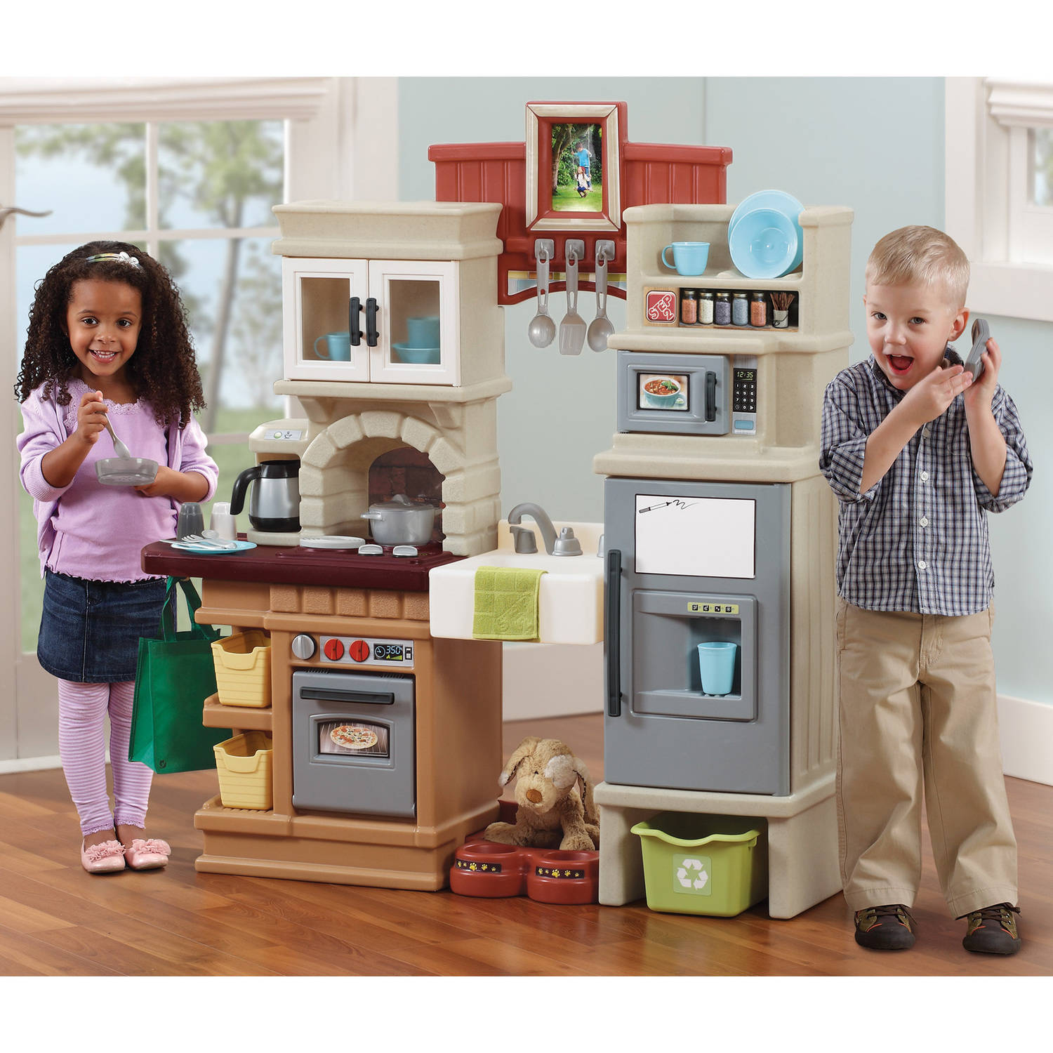 Play Kitchen Step2 Heart Of The Home Kitchen Includes 41 Piece Accessory Cook