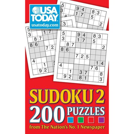 Usa Today Sudoku 2  200 Puzzles From The Nations No  1 Newspaper