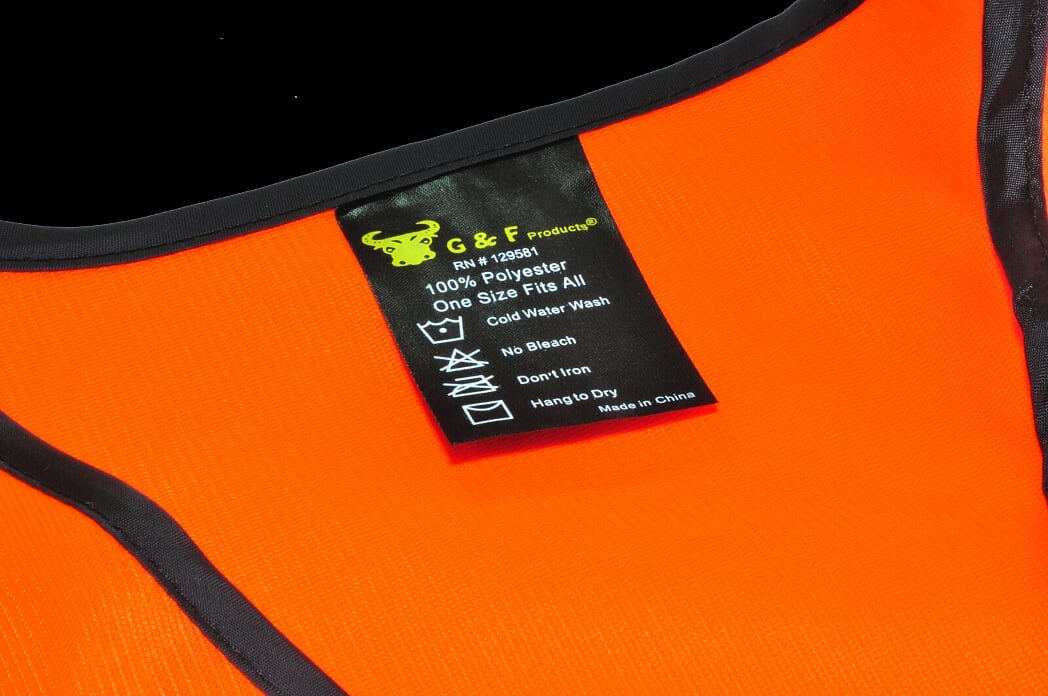 GF Gloves 41113 20 Safety Vest with Reflective Strips, Meets ANSIISEA Standards, One Size, Neon Orange (Pack of 20)