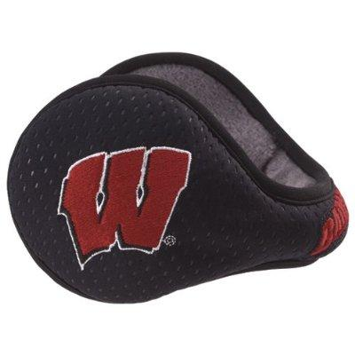 Reebok 180S University of Wisconsin NFL Ear Warmers by KRYPTONITE