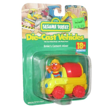 Sesame Street Die Cast Cars Fisher Price Toy Chest Muppet