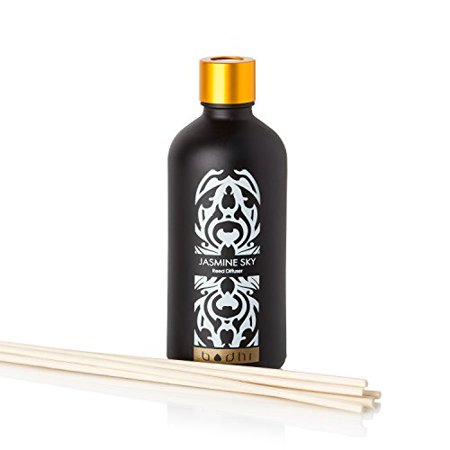 Bodhi Fragrant Jasmine Sky Reed Diffuser   Creates A Calm And Comforting Ambience  3 04 Fl Oz