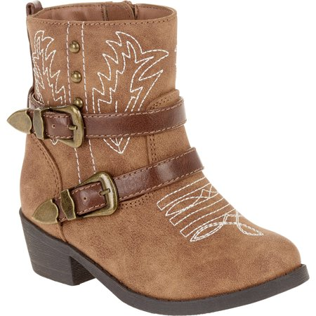 Faded Glory Toddler Girls' Fashion Cowboy Boot