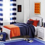 Mainstays kids 39 sports patch coordinated bed in a bag for Better homes and gardens bed in a bag