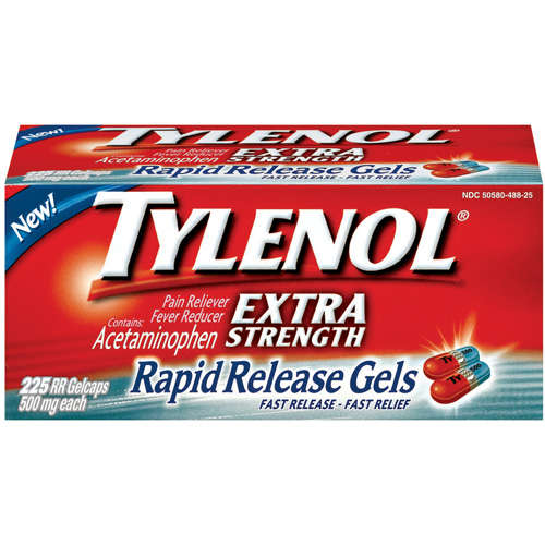 McNeil Tylenol  Pain Reliever/Fever Reducer, 225 ea