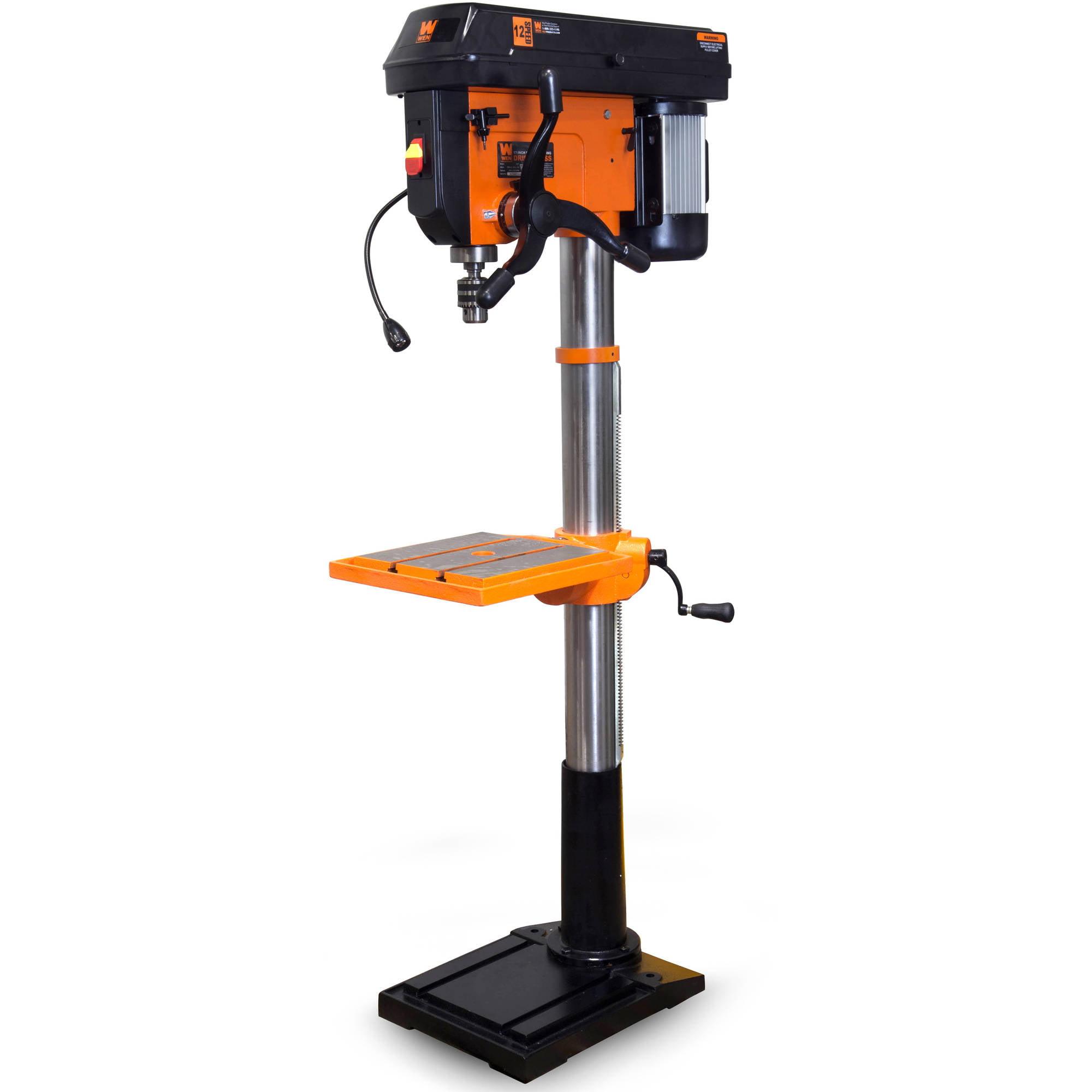"""WEN 17"""" 13-Amp 2-Speed Floor-Standing Drill Press"""