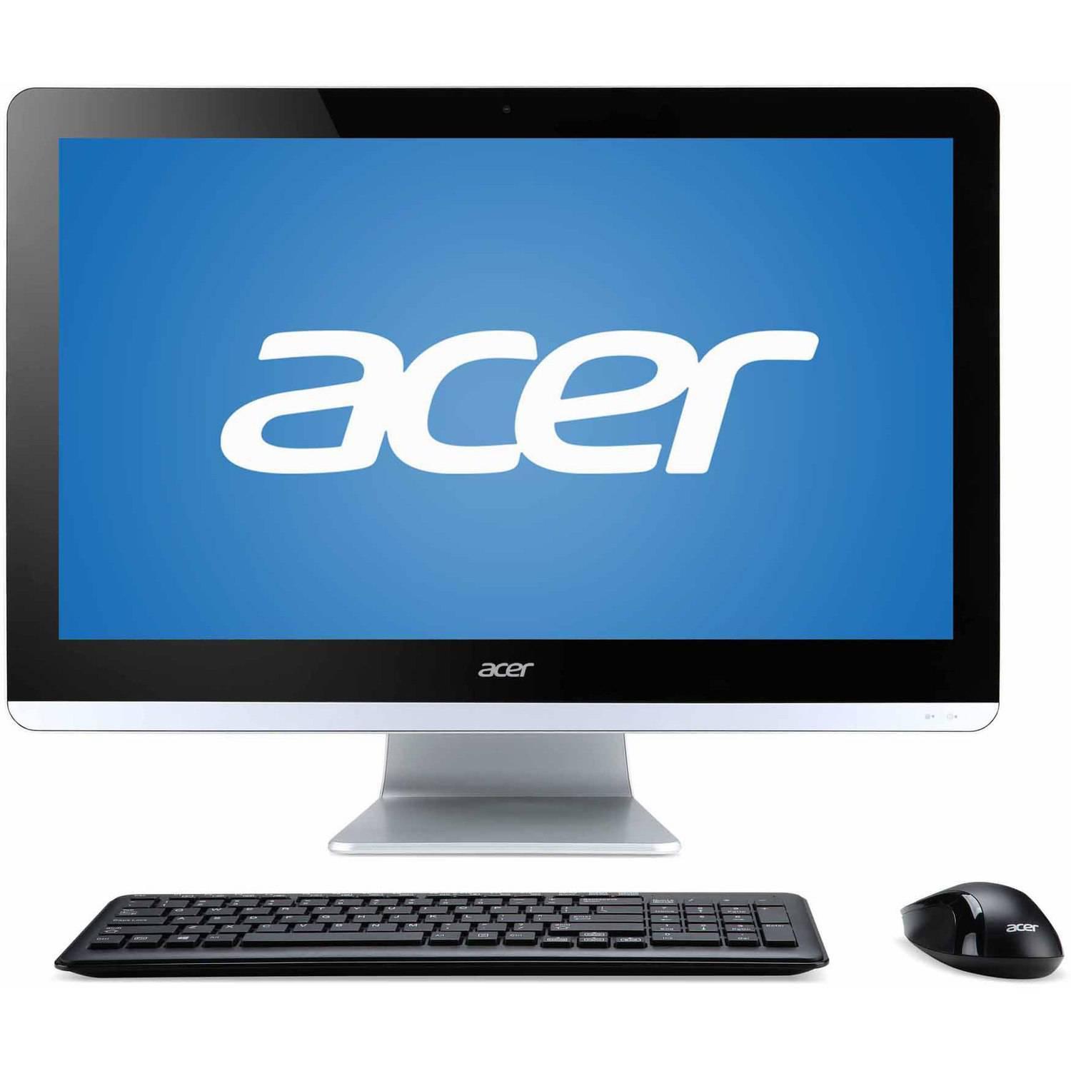 "Acer Aspire AZC-700G-UW61 All-in-One Desktop PC with Intel Celeron N3150 Processor, 4GB Memory, 19.5"" Display, 500GB Hard Drive and Windows 10"