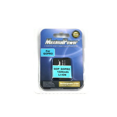 MaximalPower GoPro Hero 5 Black Hero5 AHDBT-501 Camera