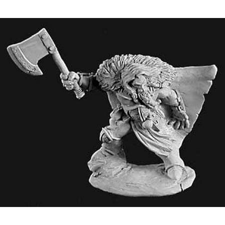 - Reaper Miniatures Lars Ragnarson, Viking #02931 Dark Heaven Unpainted Metal