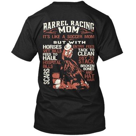 Barrel Racing Shirts (Barrel Racing Mom Hanes Tagless Tee)