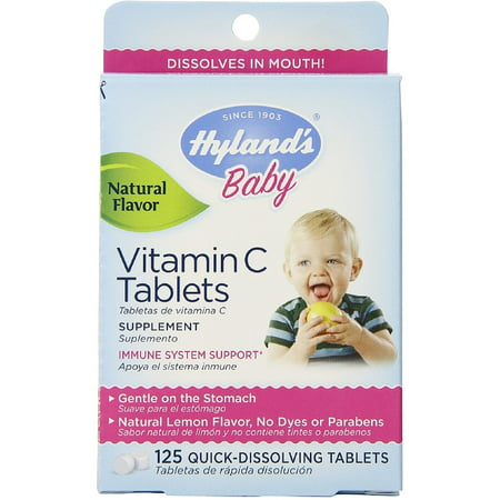 Hyland S Baby Vitamin C Quick Dissolving Tablets Natural