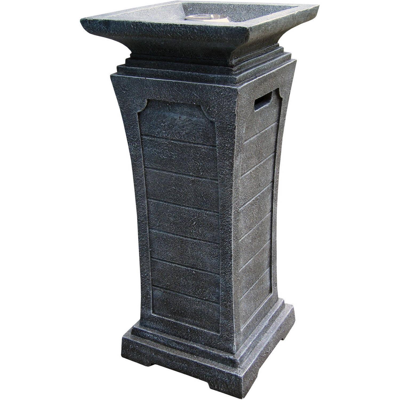 Landmann Seneca Gas Pedestal Fireplace Greystone 22360