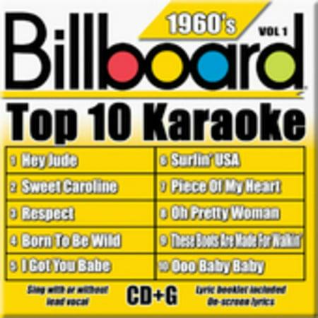 Billboard Top 10 Karaoke: 1960's Top 10 Classic Music