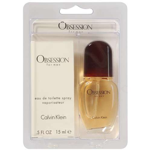 Calvin Klein Obsession For Men Cologne, .5 fl oz