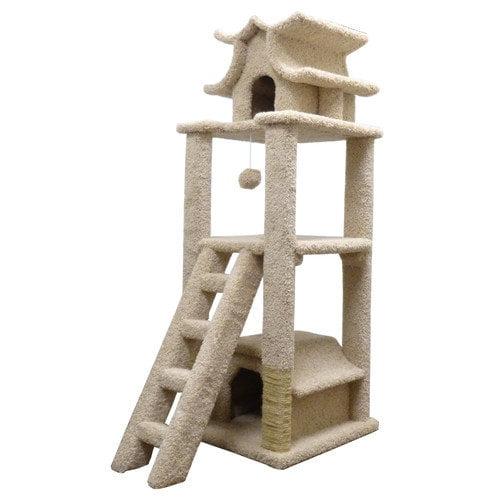 New Cat Condos 67'' Premier Designer Cat Tree