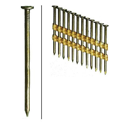 Hillman Fasteners 461742 Framing Nails, Plastic Strip, Smooth, Brite, 3.25-In. x .131, 4,000-Ct.