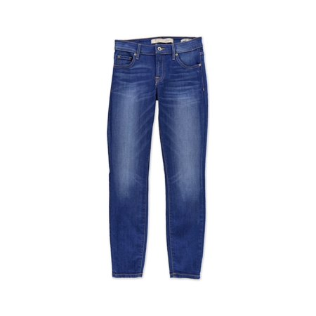 GUESS Womens Power Curvy Mid Skinny Fit Jeans blue 25x26 - image 2 de 2