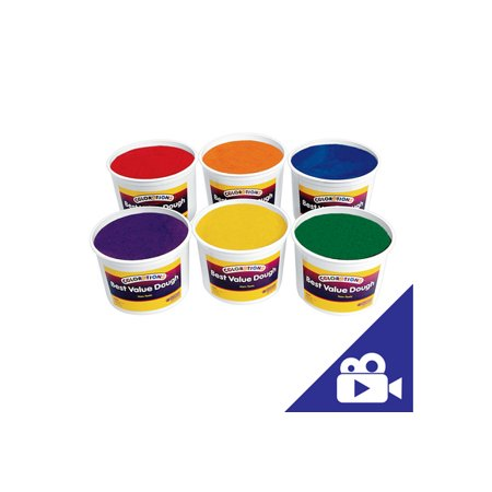Colorations Classic Colors Best Value Dough - 18 lbs. (Item #