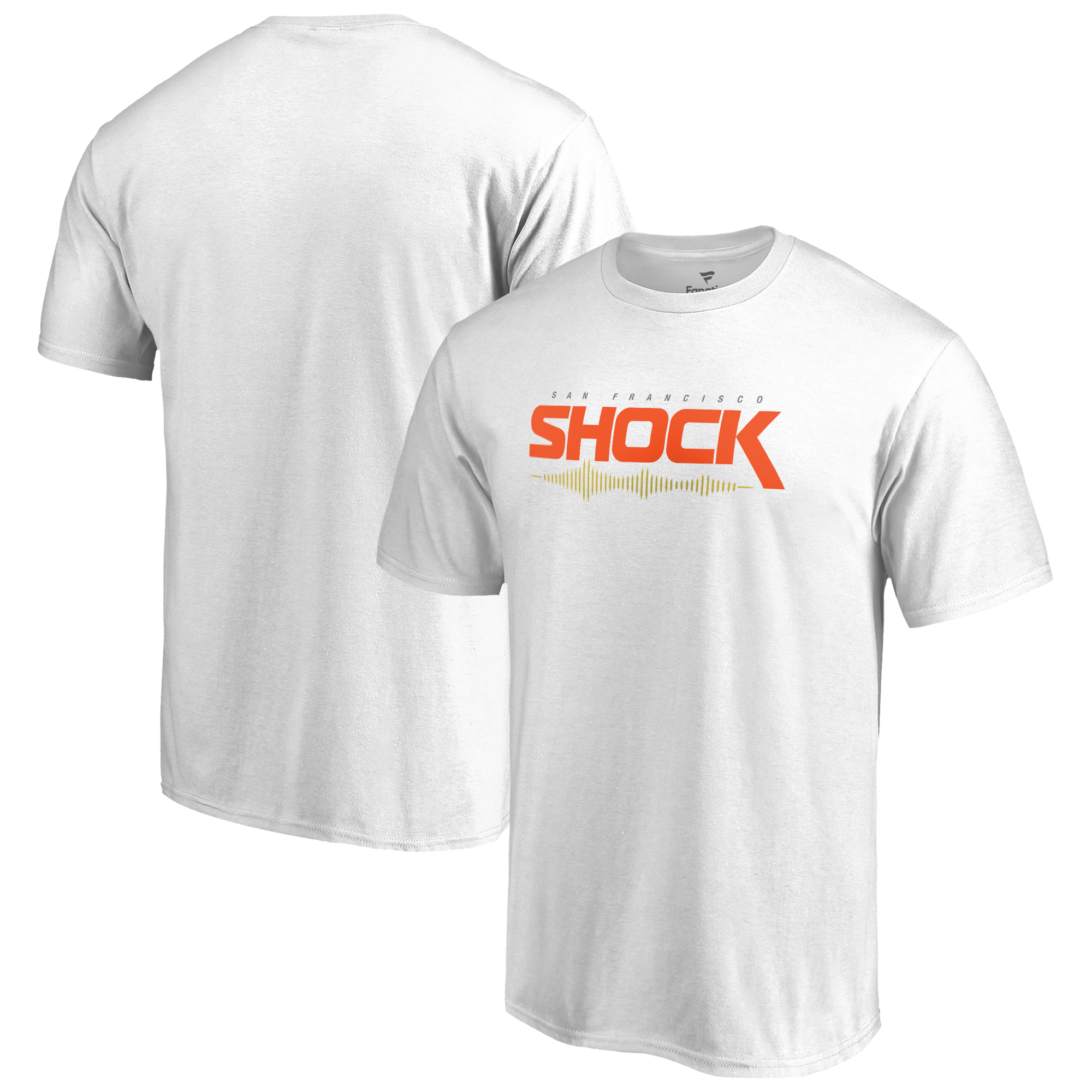 San Francisco Shock Fanatics Branded Team Identity T-Shirt - White