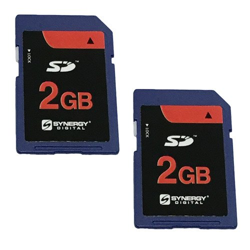 Kodak DX7590 Digital Camera Memory Card 2x 2GB Standard Secure Digital (SD) Memory Card (1 Twin Pack)