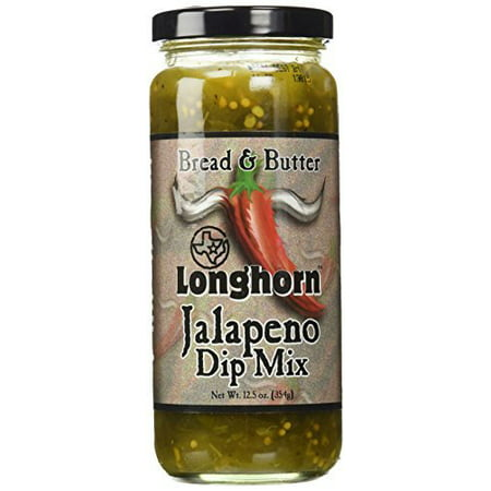 Texas Longhorn Bread and Butter Jalapeno Dip Mix, 12.5 oz ...