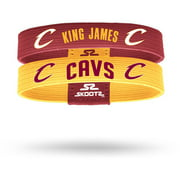 SkootZ Wristband, Cavaliers, Lebron James, Pack of 2