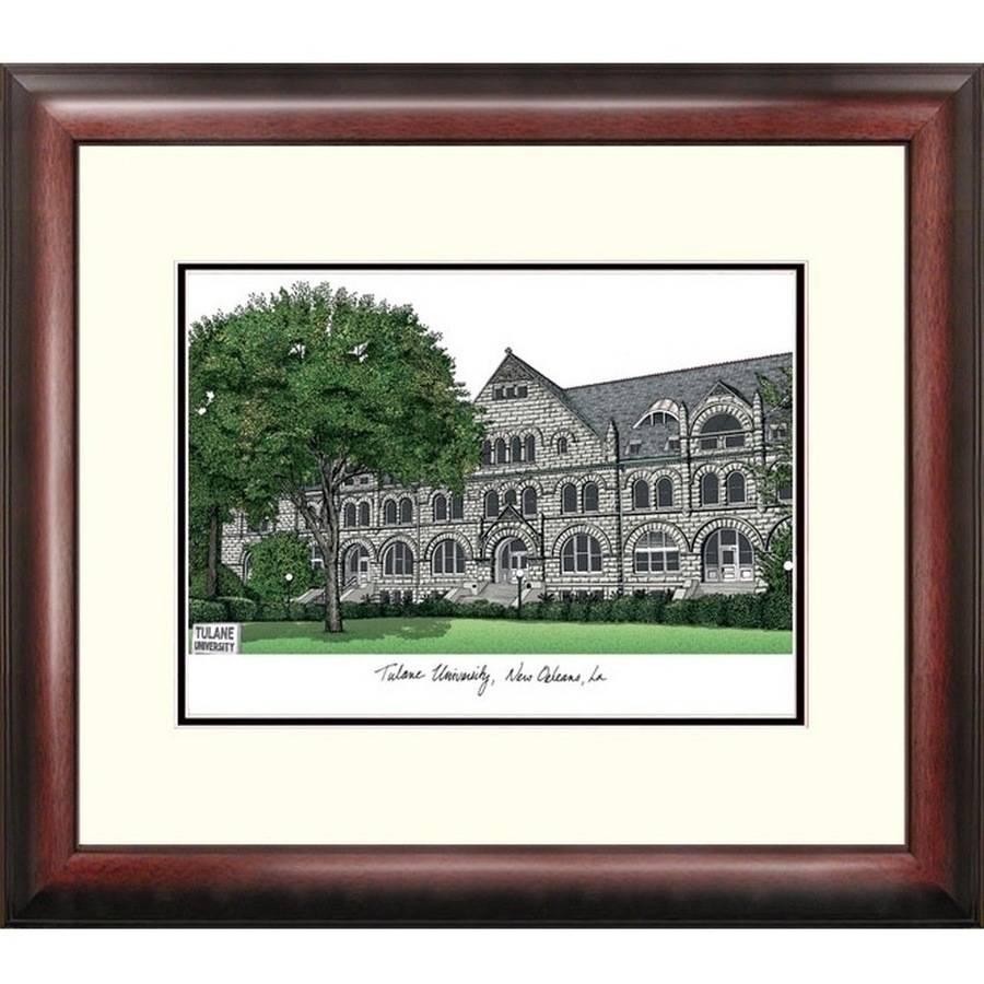 Tulane University Alumnus Framed Lithograph