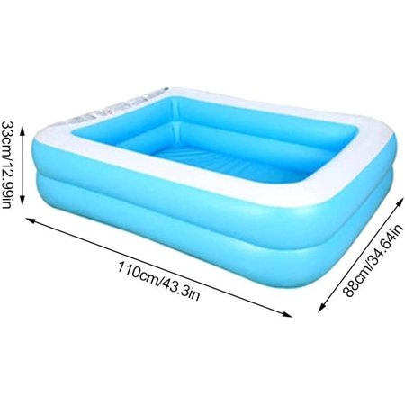 Inflatable Swimming Pool Enhanced Hot Melt Technology Leak Proof Swimming Pool Suitable For Home Use Walmart Canada